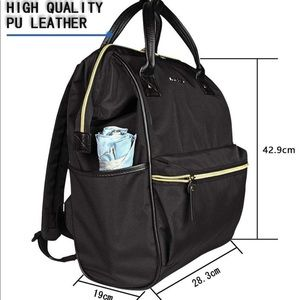 Kroser Black backpack NEW
